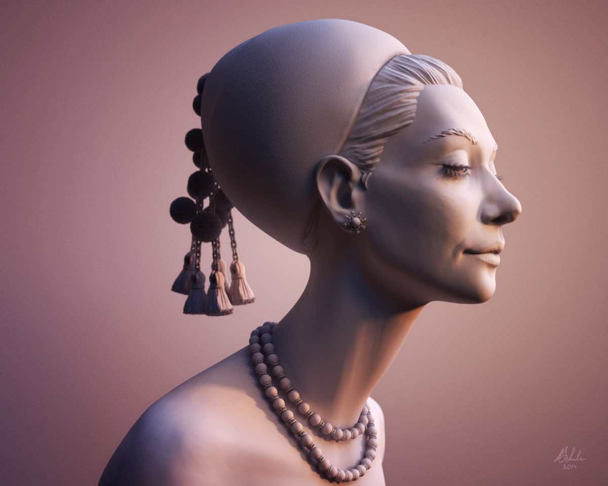 Woman Sculpt by Anna Schmelzer