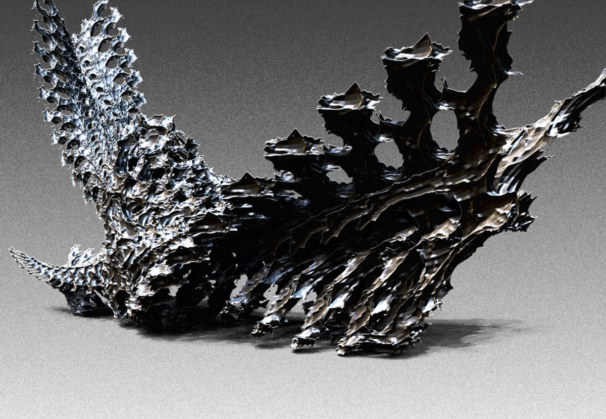 ZBrush 4R7 Bonestructure made from nano mesh