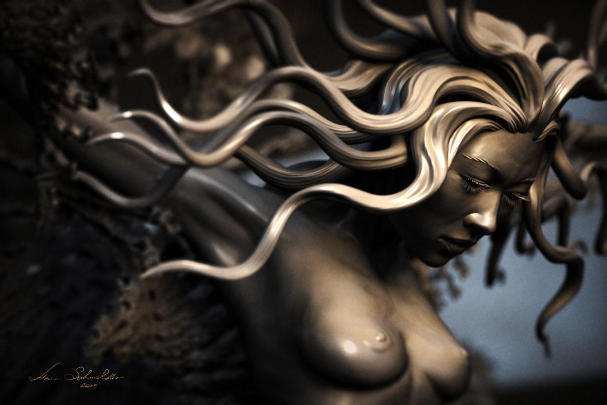 Mao Leviathan Wakes Illustration Anna Schmelzer close up