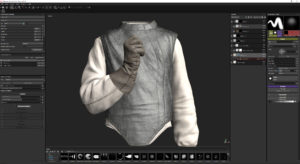 Substance Painter Cloth Texture for the Fencer CG Model